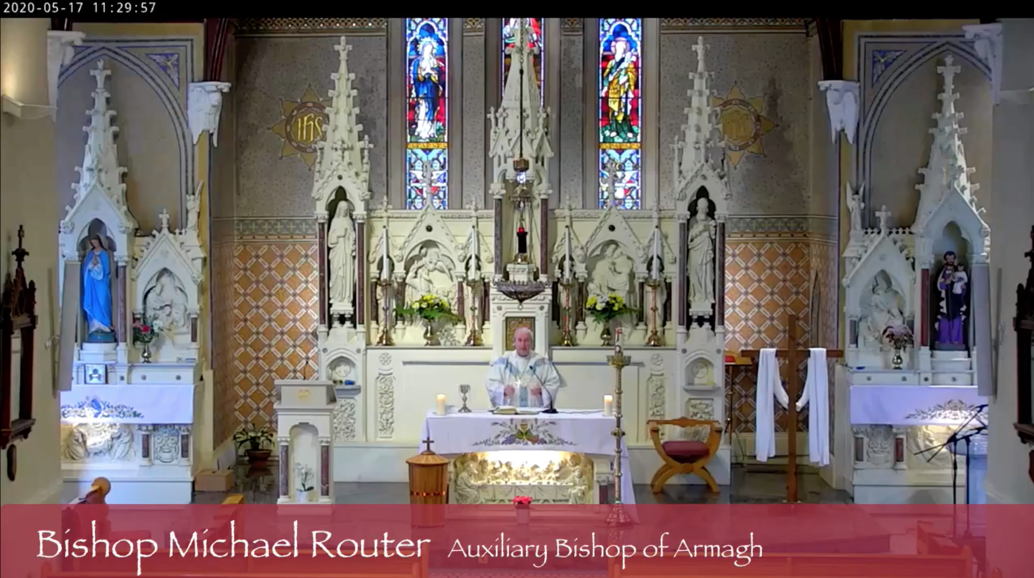 Mass 17May20 Bishop Michael Router