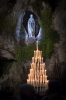 lourdes-2015 Grotto by Night